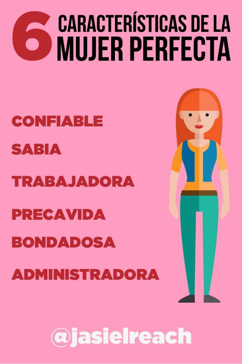 5 características de la mujer perfecta infografico-01